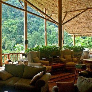 the Engagi Lodge, Bwindi