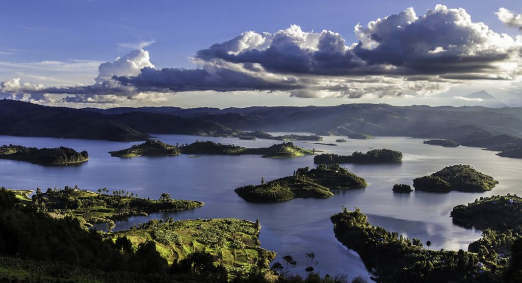 The Beautiful Lake Bunyonyi